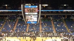 Target Center Scoreboard