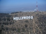 Helicopter Ride Around LA 2008 - Hollywood Sign