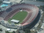 Helicopter Ride Around LA 2008 - LA Memorial Coliseum
