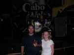 Cabo San Lucas - Lisa and Me at Cabo Wabo