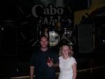 Cabo San Lucas - Lisa and Me at Cabo Wabo